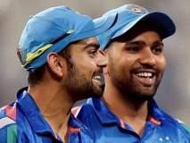 India vs Australia ODI : विराट कोहलीच्या धोनीबाबतच्या 'त्या' मताशी हिटमॅन रोहित असहमत