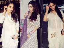 OMG! सारा अली खान म्हणून घालते पांढऱ्या रंगाचे कपडे!!