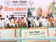 Lok Sabha Election 2019 सांगलीत महाआघाडीची महाखिचडी-देवेंद्र फडणवीस