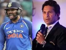 India vs Australia 2nd ODI : अन् रोहित शर्माला 'क्रिकेटच्या देवा'शी बरोबरी करता आली नाही