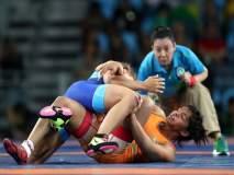 ऑलिम्पिक पदक विजेत्या साक्षी मलिकचे सुवर्णस्वप्न भंगले