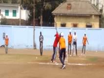 संगमनेरात रंगल्या अंधांच्या राजस्तरीय क्रिकेट स्पर्धा