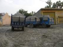 राहुरी तहसील कार्यालयातूृन दहा वाळूच्या वाहनांची चोरी