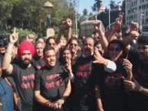 'प्रधानमंत्री नोकरी दो'! मुंबईत काँग्रेसचे संजय निरुपम यांच्या नेतृत्वाखाली आंदोलन