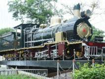 शंभर वर्षे प्रवासी सेवा बजावून शकुंतलेची 'भुसावळ' रेल्वे मुख्यालयात... विश्रांती...!