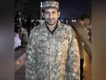 आपला तो बाब्या... सर्फराझने पाकिस्तानी सैन्याचा युनिफॉर्म घातला, PCBला नाही दिसला!