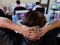 शेअर बाजार पुन्हा गडगडला, सेन्सेक्स 500 अंकांनी घसरला; मिनिटात 2.24 लाख कोटी झाले गायब