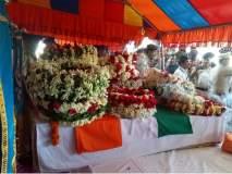 Pulwama Attack : 'अमर रहे' ,'अमर रहे' च्या जयघोषात औरंगाबाद विमानतळावर शहीद जवानांना सलामी