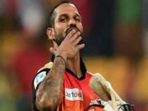 IPL 2018 : सनरायजर्स हैद्राबादच्या कर्णधारपदी गब्बर?