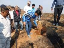 मांगरुळमधील झाडांना आग लावणाऱ्या लोकांवर कडक कारवाई करण्याची खासदार श्रीकांत शिंदेंची मागणी