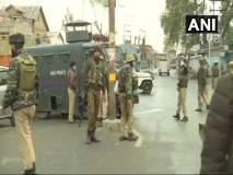 Jammu Kashmir : श्रीनगरमध्ये चकमकीत तीन दहशतवाद्यांचा खात्मा