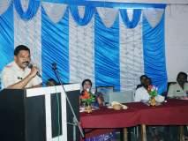 वाशिम: मुसळवाडी येथील आश्रम शाळेतसायबर क्राईमबाबत विद्यार्थ्यांना मार्गदर्शन