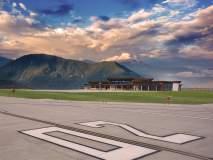 निसर्गाच्या कुशीत वसलेलं सिक्कीम एअरपोर्ट; मन होईल प्रसन्न
