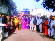 सिंदखेड राजा : सावित्रीबाई फुले जयंतीनिमित्त निघाली शोभायात्रा
