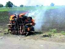 जिल्ह्यातील अनेक गावांत मृतदेहांची अवहेलना-अंत्यसंस्कारासाठी पुरेशा सुविधा नाहीत