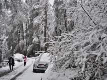 हिमवृृृष्टीमुळे जम्मू-श्रीनगर महामार्ग बंद ; हिमाचल, उत्तराखंडमध्ये बर्फाची चादर