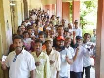 सोलापूर लोकसभेसाठी ५८.४५ मतदान