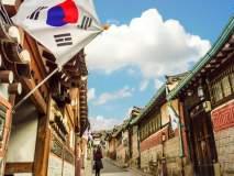 प्योंगच्योंगमध्ये फडकला तिरंगा