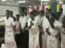 तामिळनाडूत मंत्र्याने मंदिरात केला डान्स; व्हिडिओ व्हायरल