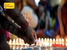 Lokmat 'Star Deepbhav' - : स्पृहा जोशीने साजरी केली अंध मुंलींसोबत दिवाळी