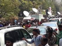 Sridevi Funeral : श्रीदेवी यांच्या चाहत्यांना भावना अनावर