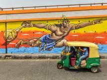 दिल्लीतील उड्डाणपुलांचं बदललेलं रुप पाहिलंत का?