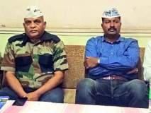 भाजप-काँग्रेस भांडवलदारांचे मांडलिक : 'आप'चे ब्रिगेडिअर सुधीर सावंत यांचा पत्रकार परिषदेत आरोप