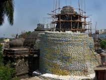 नाशिकच्या सुंदर नारायण मंदिराच्या झळालीला चोरट्यांचे विघ्न