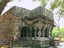 घामावती तीरीचे सुबक शिल्पांकित खडकेश्वर मंदिर