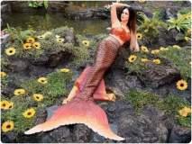 OMG ! सनी लिओनी बनली जलपरी