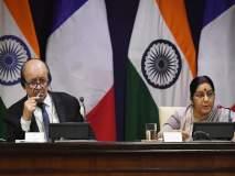 फ्रान्सचे परराष्ट्र मंत्री जीन वेस ला ड्रायन भारताच्या दौ-यावर