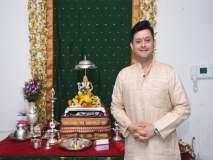 Ganesh Festival 2018 : हे आहे स्वप्निल जोशीच्या गणरायाचे वेगळेपण