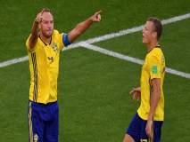 FIFA Football World Cup 2018 : मेक्सिकोवर विजयासह स्वीडन बाद फेरीत
