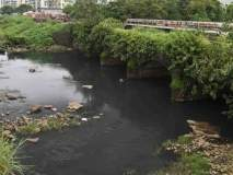 तळोजा नदी प्रदूषण; अधिकाऱ्यांवर गुन्हा