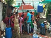 जलसंपदा मंत्र्यांच्या जामनेर शहरात टँकरने पाणीपुरवठा
