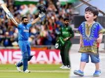 भारताच्या विजयावर तैमूरचा जल्लोष, या अंदाजात टीम इंडियाला केलं सॅल्युट, पहा फोटो