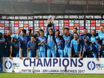 भारताचा सलग आठवा मालिका विजय, धवनचे नाबाद शतक