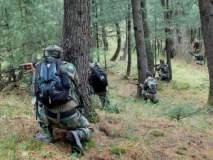Jammu Kashmir : शोपियान चकमकीत दोन दहशतवाद्यांचा खात्मा