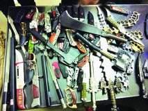डोंबिवलीच्या भाजपा शहर उपाध्यक्षाकडे मिळाली शस्त्रे