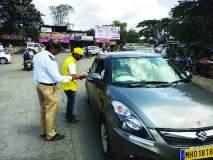 मुंबई-गोवा राष्ट्रीय महामार्गावर चोख वाहतूक व्यवस्था