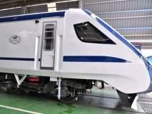 इंजिन नसलेली 'नेक्स्ट जनरेशन ट्रेन' ट्रॅकवर, पाहा फोटो...