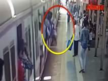 Video : चित्तथरारक! आरपीएफ जवानामुळे वाचलाधावती लोकल पकडणाऱ्या प्रवाशाचा जीव