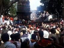 हजारो भाविकांच्या उपस्थितीत तुळजाभवानी मंदिरात अजाबळी