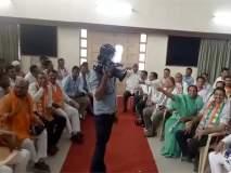 VIDEO: भाजपा-राष्ट्रवादीत जुंपली; 'मोदी-मोदी'च्या घोषणांना 'चोर है'नं प्रत्युत्तर