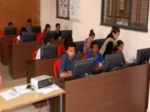 नाशिकच्या विद्यार्थ्यांनी रविवारी दिली महाराष्ट्र बंदमुळे पुढे ढकललेली टायपिंगची परीक्षा