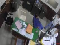 उल्हासनगर : भाजपा नगरसेवकाची फाईल चोरी CCTVमध्ये कैद