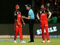 IPL 2019 : कोहलीवरील राग दरवाजावर काढला, पंचांनीच नियमांची 'सीमा' ओलांडली