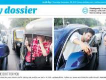 हे धाडस सिनेमापर्यंतच ठेव, वरूण धवनला मुंबई पोलिसांचा 'डोस'