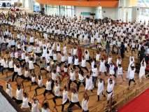 वाशीत योगशिबिराला हजारोंची उपस्थिती