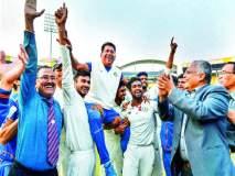विदर्भाने रचला इतिहास, रणजी चषक पहिल्यांदाच जिंकला
